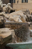 Fountain di Trevi - most famous Rome's fountains in the world. I — Stock Photo