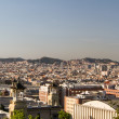 Royalty-Free Stock Photo: Panoramic view of Barcelona Skyline. Spain.