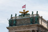 Vienna, Austria - Hofburg Palace. The Old Town is a UNESCO World heritage site — Stock Photo