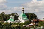 Kyrkan och Visa av vladimir, Ryssland — Stockfoto