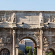 Roman ruins in Rome, Forum — Stock Photo #15468545