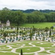 Famous palace Versailles near Paris, France with beautiful gardens — Stock Photo