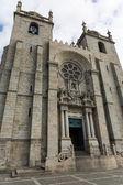 Panoramic view of the Porto Cathedral (Se Porto) - Portugal — Stock Photo