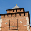 Stock Photo: Kremlin wall at Nizhny Novgorod in summer. Russia