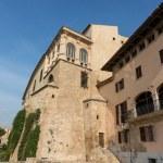Almudaina of Palma de Mallorca in Majorca Balearic island — Stock Photo #15479615