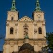Old Church of Sts. Florian in Krakow. Poland - Stock Photo