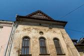 Cracovia - una arquitectura única en el antiguo barrio judío de kazimierz — Foto de Stock