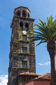Bell Tower of Iglesia de La Concepcion — Stock Photo