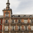 Stock Photo: PlazMayor in Madrid, Spain