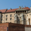 Royal castle in Wawel, Krakow — Stock Photo