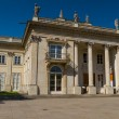 The Lazienki palace in Lazienki Park, Warsaw. Lazienki Krolewskie. — Stockfoto