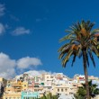 The City of Las Palmas de Gran Canaria, Spain - Stock Photo