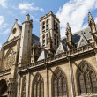 The Church of Saint-Germain-l'Aux errois, Paris, France — Stock Photo