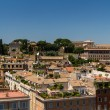 Travel Series - Italy. View above downtown of Rome, Italy. - Stock fotografie