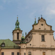 cathedral in old town of cracow — Stock Photo #15488053
