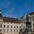 Hofburg palace and monument. Vienna.Austria. — Stock Photo #15489995