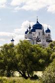 Orthodoxy monastery in Bogolyubovo — Stock Photo