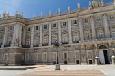 Kungliga slottet i madrid spanien - arkitekturen bakgrund — Stockfoto