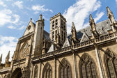 A igreja de saint-germain-l'aux errois, paris, frança — Foto Stock
