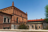Old Synagogue in historic Jewish Kazimierz district of Cracow — Foto de Stock