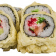 Japanese Cuisine -Tempura Maki Sushi (Deep Fried Roll made of sa — Stock Photo