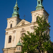 Old Church of Sts. Florian in Krakow. Poland — Stock Photo #15493177