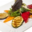 Stock Photo: Grilled vegetables (zucchini, eggplant, peppers,)