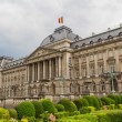 Royal Palace view from Place des Palais in historical center of — Stock Photo