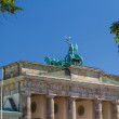 The Brandenburger Tor (Brandenburg Gate) is the ancient gateway — Stock Photo