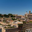 Travel Series - Italy. View above downtown of Rome, Italy. - Foto de Stock