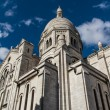 The external architecture of Sacre Coeur, Montmartre, Paris, Fra - Lizenzfreies Foto