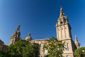 Museu Nacional d'Art de Catalunya Barcelona, Spain — Stock Photo