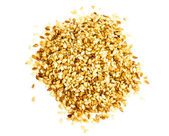 Sesame heap on white background — Stock Photo