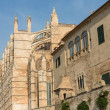 Almudaina of Palma de Mallorca in Majorca Balearic island — Stock Photo #15506125