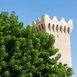 Tower in Valldemosa, Mallorca, Spain — Foto Stock