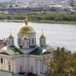 Annunciation Monastery in Nizhny Novgorod, Russia - Stock Photo