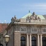Hofburg palace and monument. Vienna.Austria. — Stock Photo
