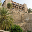 Stock Photo: Almudaina of Palma de Mallorca in Majorca Balearic island