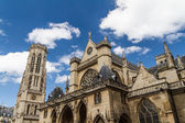 The Church of Saint-Germain-l Aux errois — Stock Photo