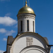 Orthodox Rogdestvensky cathedral in Vladimir (Russia) - Stock fotografie