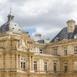 Facade of the Luxembourg Palace (Palais de Luxembourg) in Paris, - Stock Photo