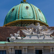 Hofburg palace and monument. Vienna.Austria. — Stock Photo #15527149