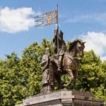Monument of russian prince Vladimir the Saint in Vladimir city, — Stock Photo