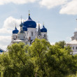 Orthodoxy monastery in Bogolyubovo — Stockfoto