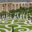 Stock Photo: Famous palace Versailles near Paris, France with beautiful gardens