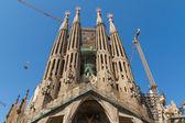 BARCELONA, SPAIN -JUNE 25: Sagrada Familia on JUNE 25, 2012: La — Stock Photo