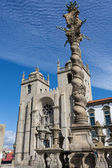 Panoramic view of the Porto Cathedral (Se Porto) - Portugal — Stock Photo