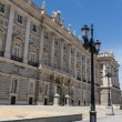 Royal Palace at Madrid Spain - architecture background — Stockfoto