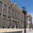 Royal Palace at Madrid Spain - architecture background — Foto de Stock