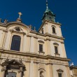 Holy Cross Church (Kosciol Swietego Krzyza), Warsaw, Poland - Stock Photo